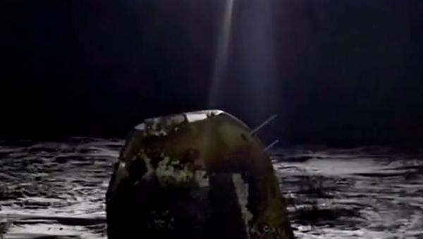 Chiński Chang'e 5 wrócił na Ziemię z próbkami księżycowymi - Sputnik Polska
