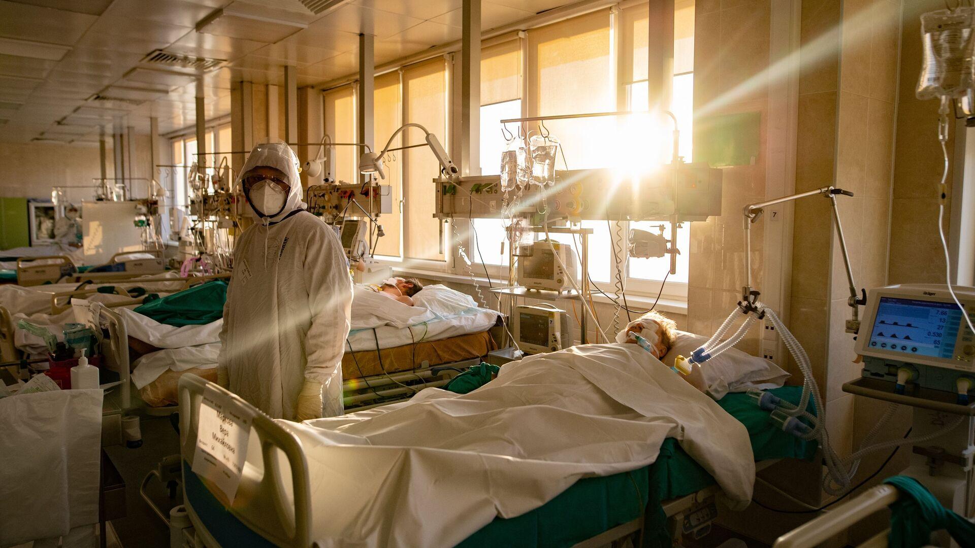 Koronawirus w szpitalu - Sputnik Polska, 1920, 21.02.2021