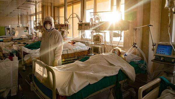 Koronawirus w szpitalu - Sputnik Polska