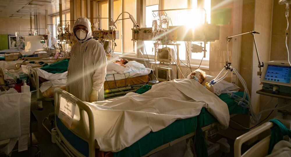 Koronawirus w szpitalu.