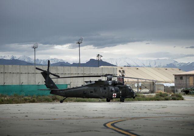 Baza lotnicza Bagram Sił Powietrznych USA w Afganistanie.