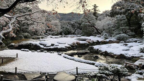 Zasypane śniegiem Kioto - Sputnik Polska
