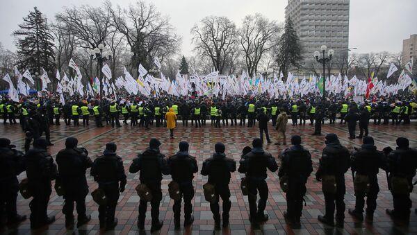 Miting w Kijowie - Sputnik Polska