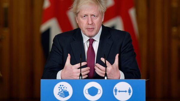 Boris Johnson - Sputnik Polska