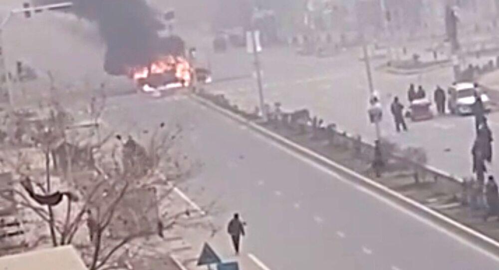 Zamach w Kabulu.