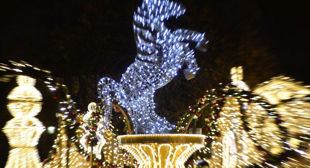 Świąteczne dekoracje w Warszawie