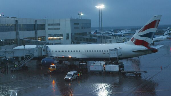 Samolot British Airways na lotnisku Domodiedowo.  - Sputnik Polska