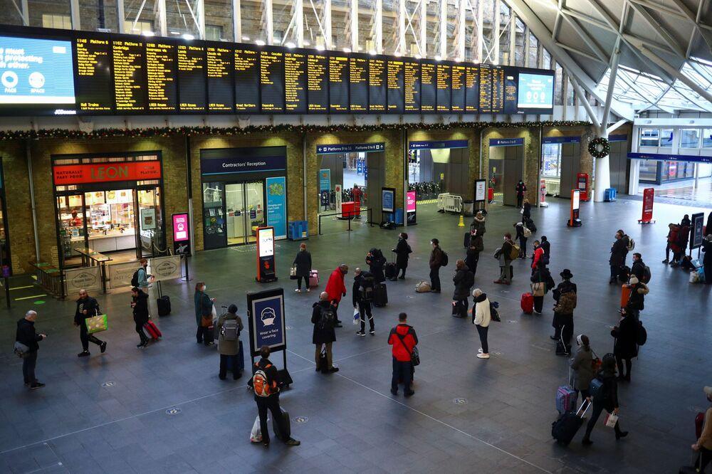 Dworzec King's Cross w Londynie