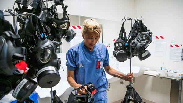 Oddział intensywnej terapii w szpitalu w Sztokholmie - Sputnik Polska
