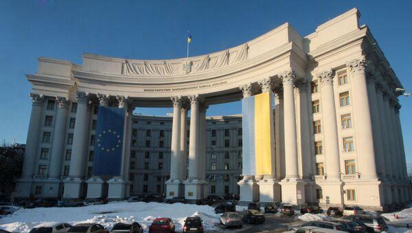 Budynek Ministerstwa Spraw Zagranicznych Ukrainy - Sputnik Polska