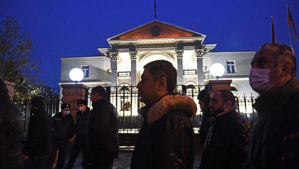 Budynek parlamentu Armenii - Sputnik Polska