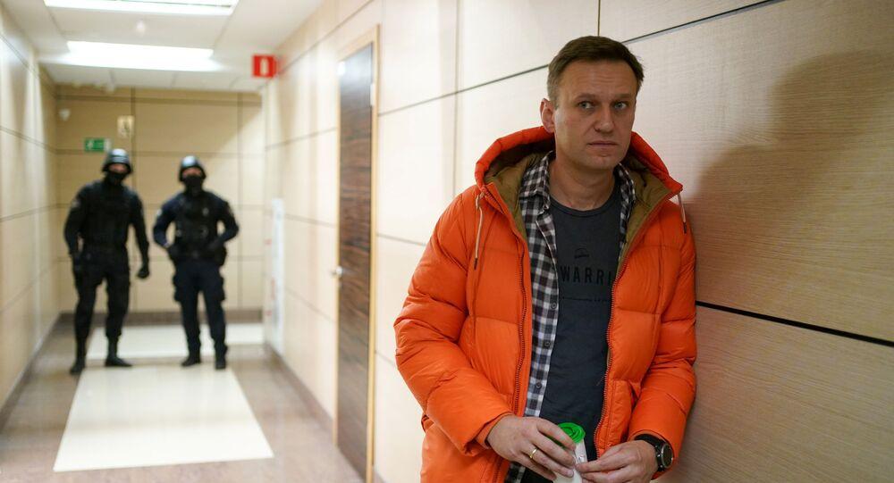 Rosyjski bloger i opozycjonista Aleksiej Nawalny.