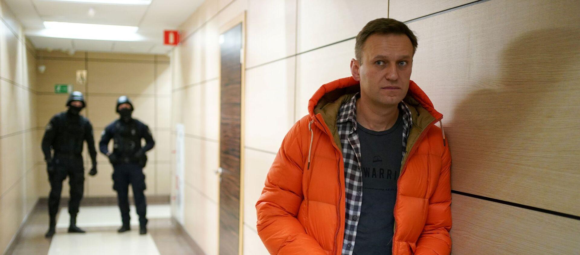 Rosyjski bloger i opozycjonista Aleksiej Nawalny - Sputnik Polska, 1920, 24.12.2020