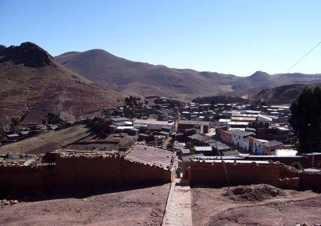 Miejscowość Okuri w Boliwii