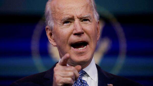 Prezydent elekt Stanów Zjednoczonych Joe Biden - Sputnik Polska
