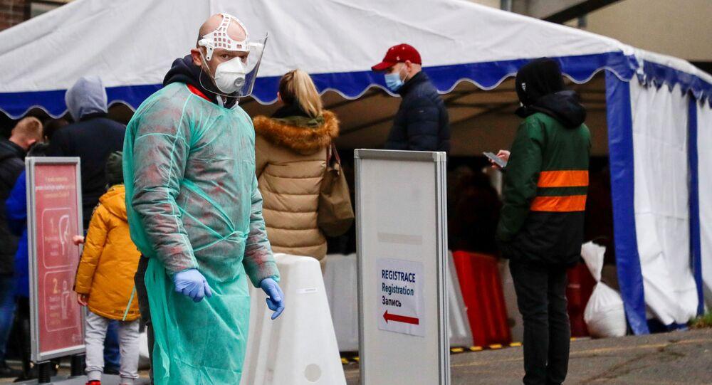 Sytuacja z koronawirusem w Czechach