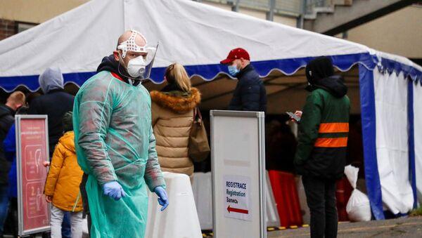 Sytuacja z koronawirusem w Czechach - Sputnik Polska