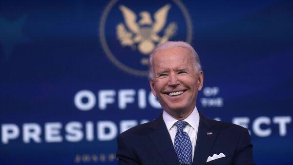 Prezydent-elekt USA Joe Biden - Sputnik Polska