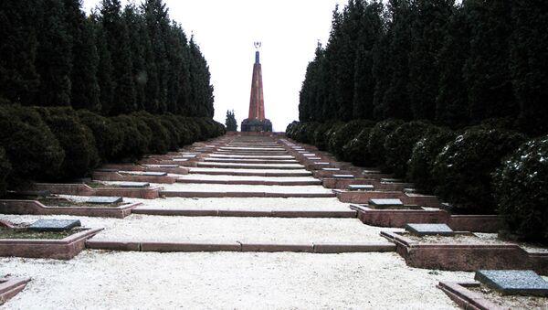 Cmentarz wojenny w słowackim Zwoleniu - Sputnik Polska
