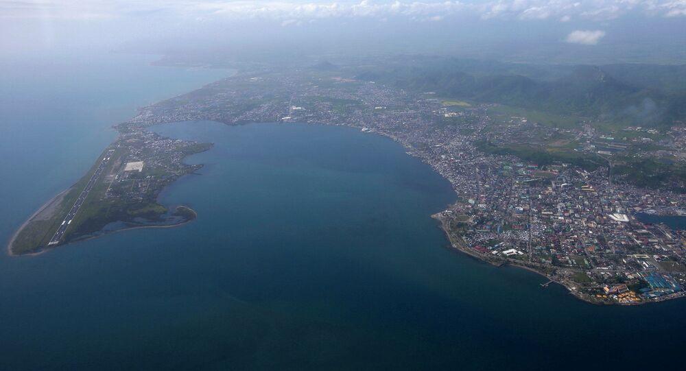 Zniszczone przez tajfun miasto Tacloban na Filipinach.