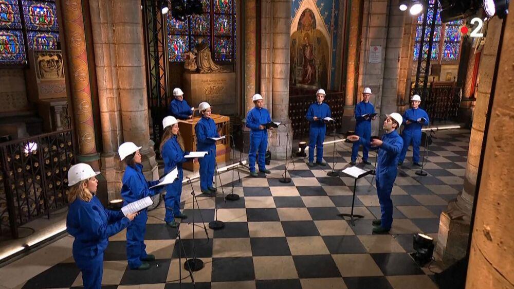 Świąteczny koncert w katedrze Notre Dame