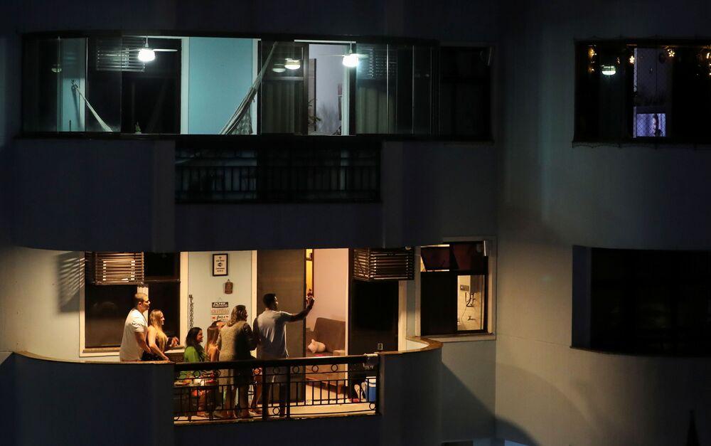 Wigilia na balkonie w Rio De Janiero