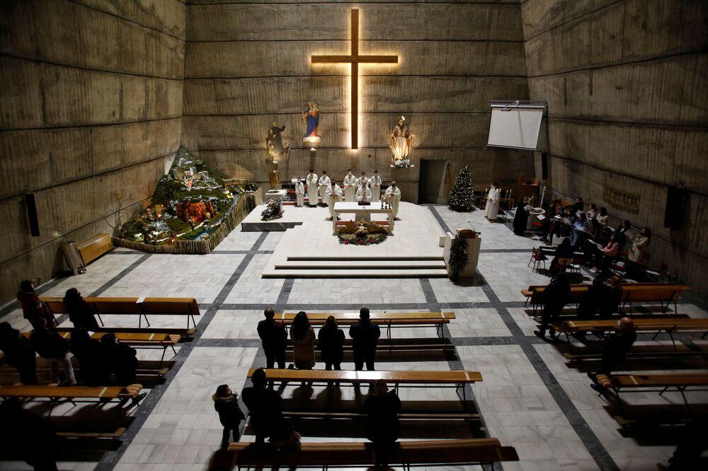 Msza wigilijna w Czarnogórze