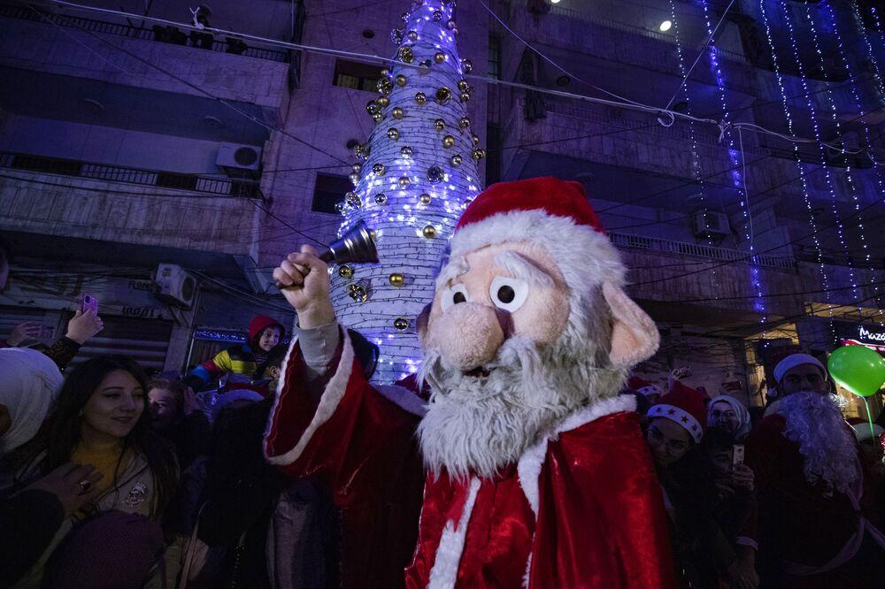 Święto Bożego Narodzenia w Syrii