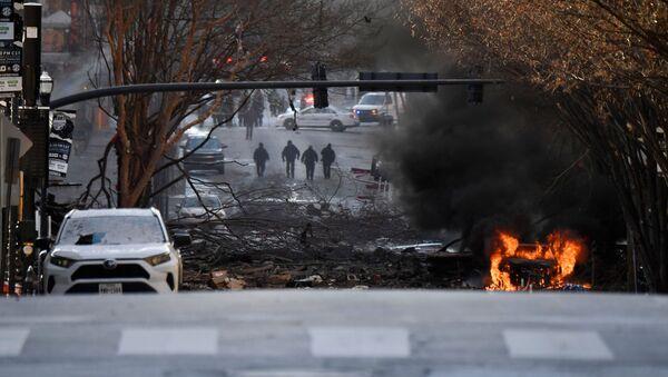 Eksplozja w centrum Nashville w Boże Narodzenie - Sputnik Polska