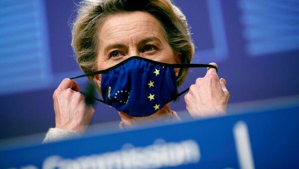 Ursula von der Leyen przewodnicząca Komisji Europejskiej - Sputnik Polska