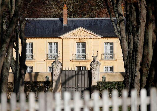 Rezydencja prezydenta Francji Emmanuela Macrona w Wersalu