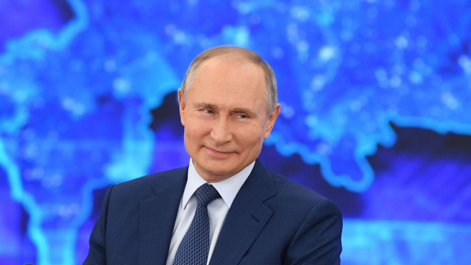 Doroczna konferencja prasowa prezydenta Rosji Władimira Putina - Sputnik Polska, 1920, 14.04.2021