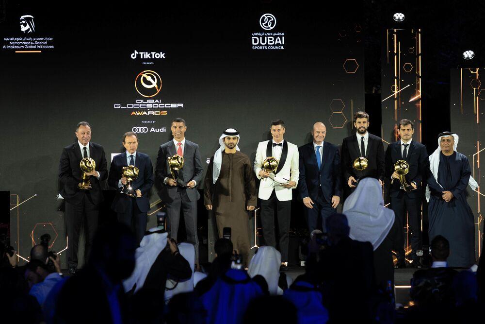 Ceremonia wręczenia nagród Globe Soccer Awards w Dubaju