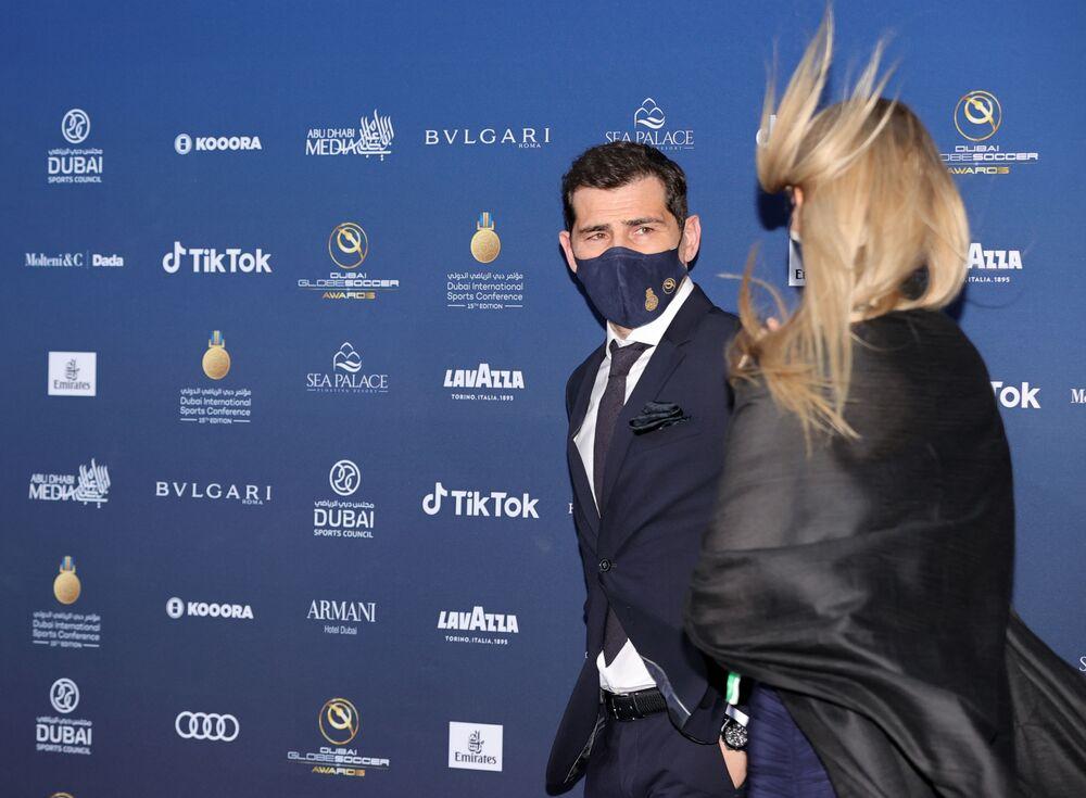 Iker Casillas na Globe Soccer Awards