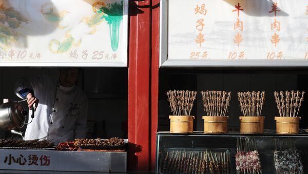 Bazar z jedzeniem w Pekinie - Sputnik Polska