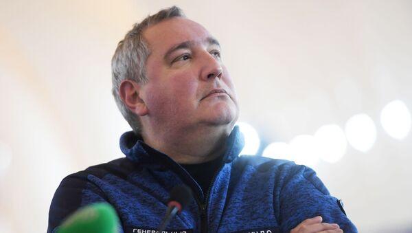 Dyrektor generalny państwowej korporacji Roskosmos Dmitrij Rogozin - Sputnik Polska