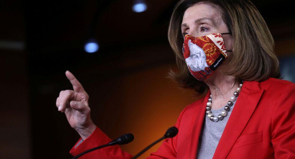 Spiker Izby Reprezentantów USA Nancy Pelosi.