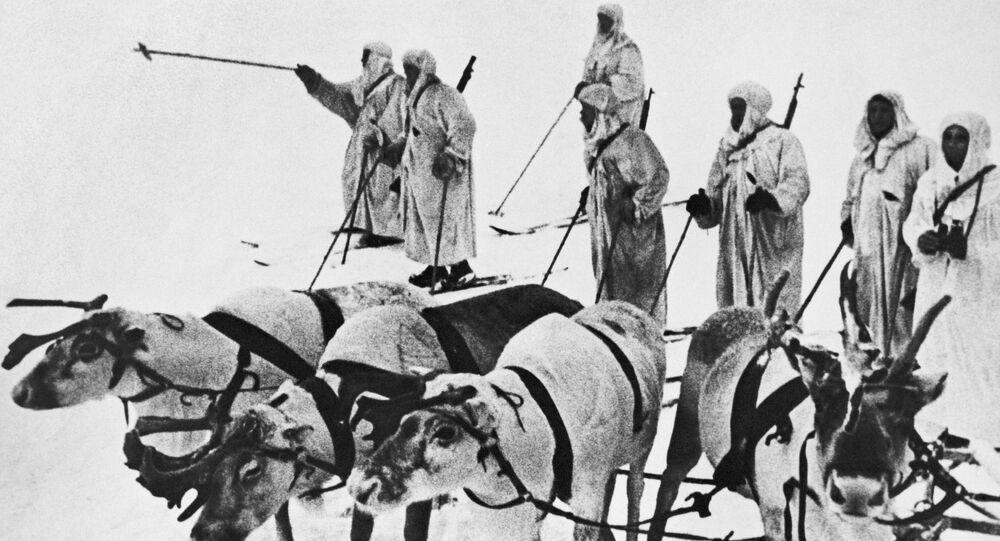 Żołnierze Armii Czerwonej
