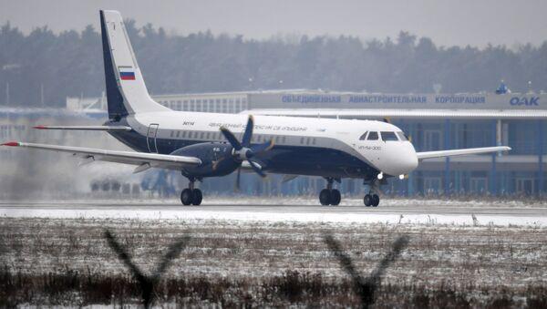 Nowy regionalny samolot pasażerski Ił-114-300 - Sputnik Polska