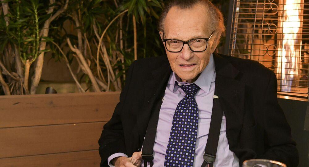 Amerykański dziennikarz Larry King