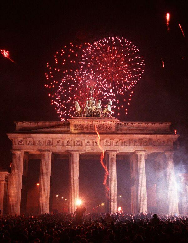 Fajerwerki w Berlinie, 1996 rok - Sputnik Polska
