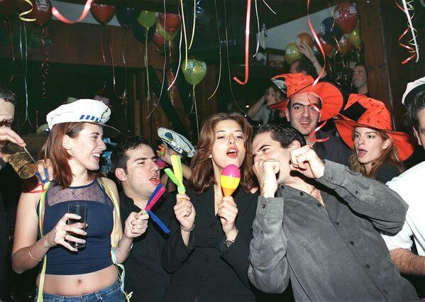 Sylwestrowa noc w Libanie, 1999 rok - Sputnik Polska