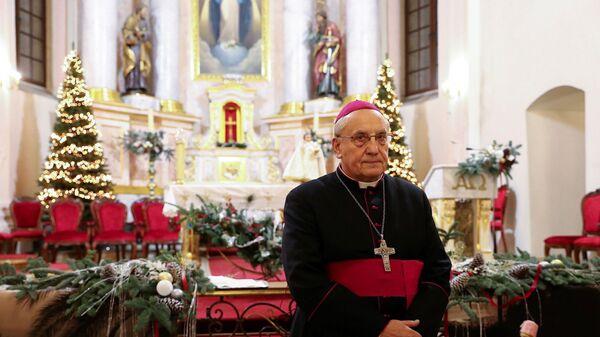 Arcybiskup Tadeusz Kondrusiewicz. - Sputnik Polska