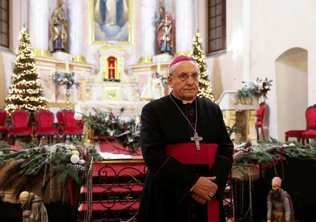 Arcybiskup Tadeusz Kondrusiewicz.