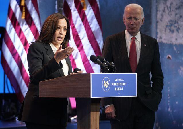 Kamala Harris,19, 2020, Waszyngton
