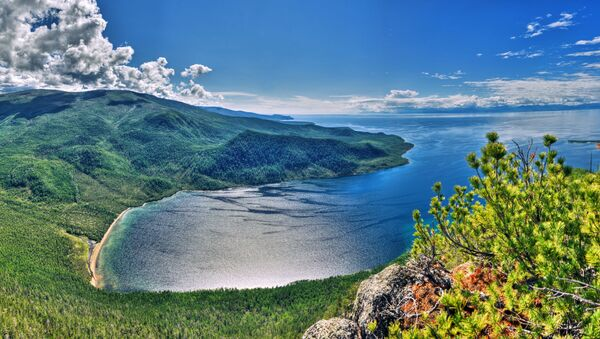 Zatoka Ajaja, Rejon siewierobajkalski Rosji - Sputnik Polska