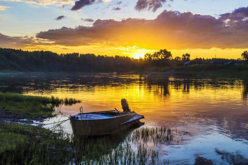 Rezerwat Pieczoro-Iljiczskij w Republice Komi