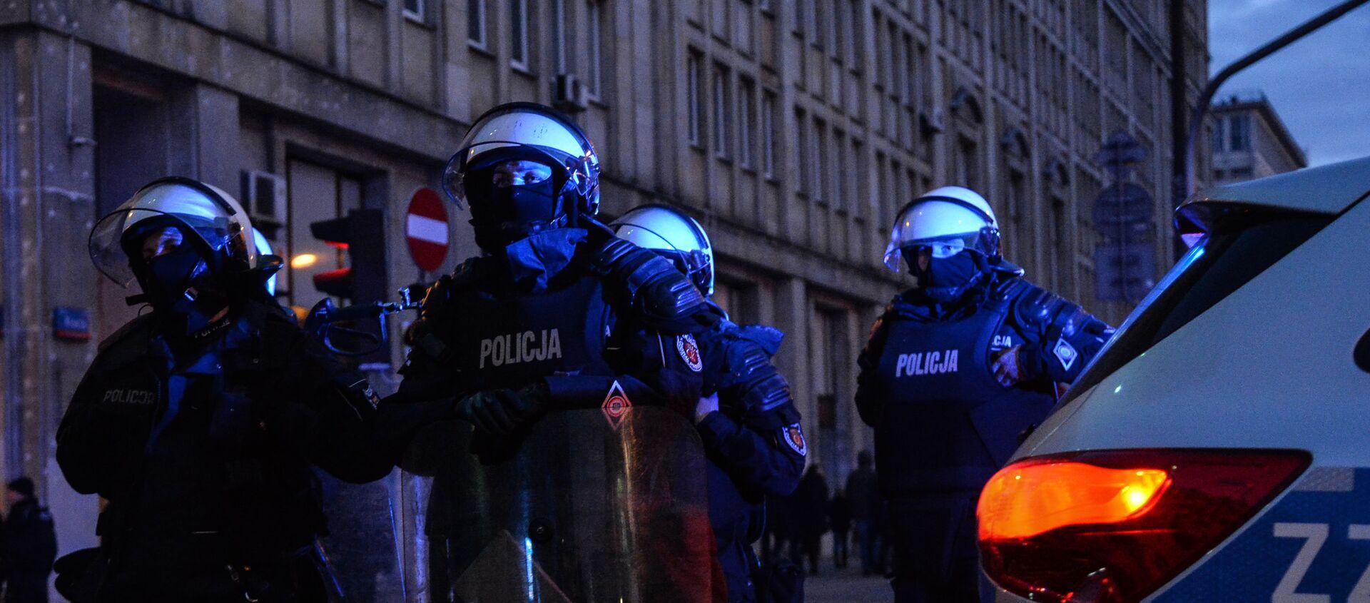 Policja w Warszawie - Sputnik Polska, 1920, 04.01.2021