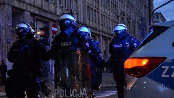 Policja w Warszawie - Sputnik Polska