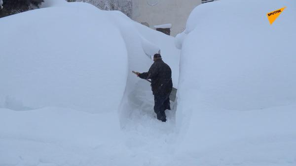 Śnieg we Włoszech - Sputnik Polska